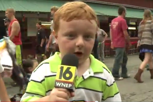 hilarious kid fair interview noah ritter