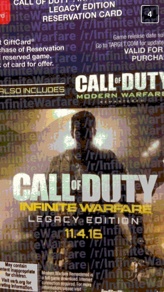 'Modern Warfare' could return in a 'Remastered' edition