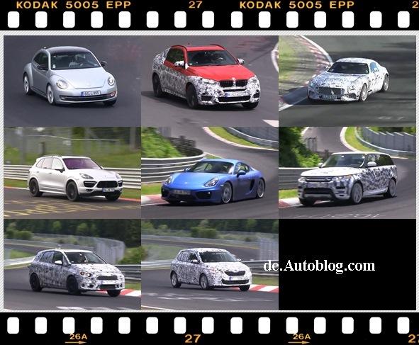 Nürburgring, Grüne Hölle, video, film, erlkönig, spy shot, testwagenfahrer, prototypen, BMW, audi,  VW, Volkswagen, Porsche, Mercedes