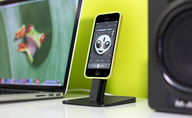 Twelve South HiRise iPhone 5/iPad mini stand in Tactical Black