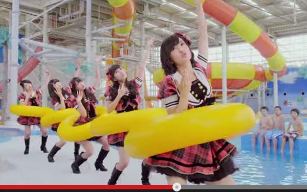 NMB48のアイドルらしからぬ体張ったCMが話題 「なんだこれ」「頭から離れん」