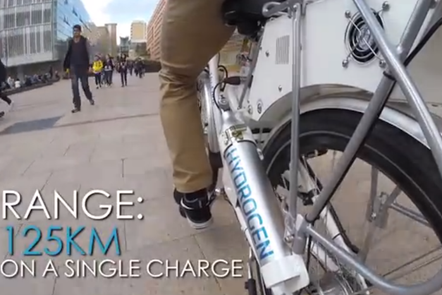hy-cycle hydrogen bicycle
