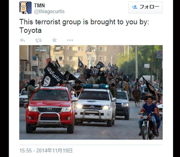 ISISなどイスラム過激派が使用する車は日本製が多い!?ネット上で話題に
