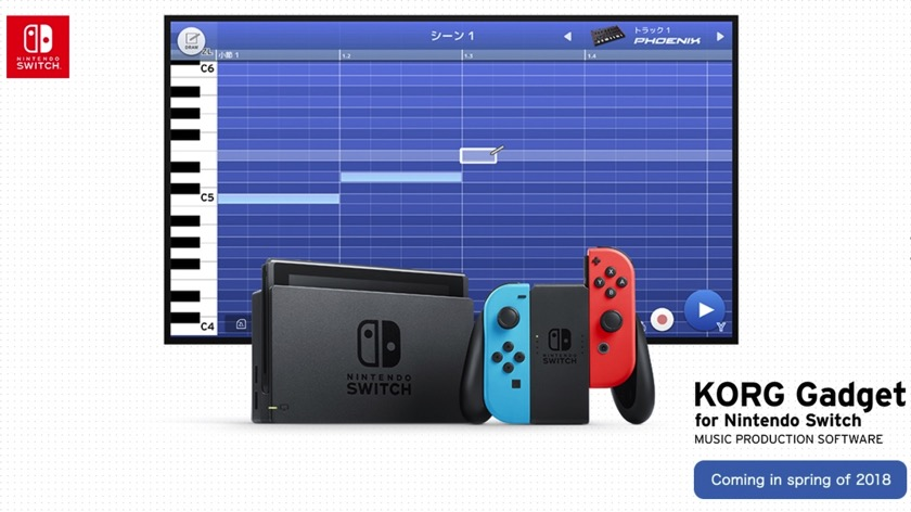 Korg bereitet Musik-App für die Nintendo Switch vor