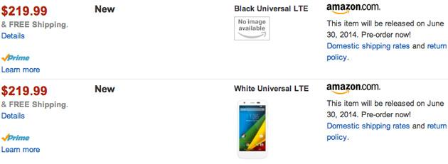 Motorola Moto G universal LTE
