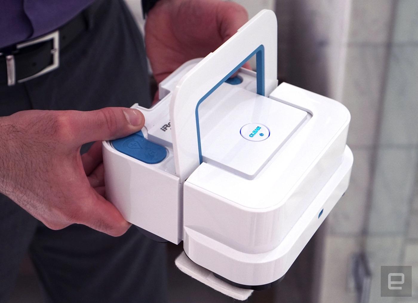 Next for iRobot, a cute $199 kitchen and bathroom mop bot