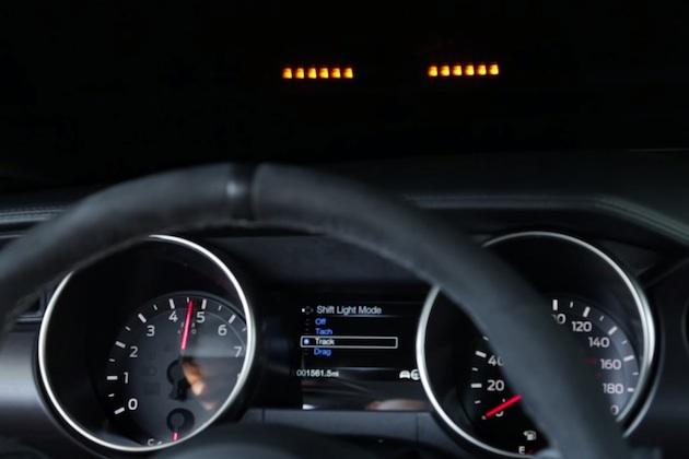 【ビデオ】フォード、「シェルビー GT350 マスタング」のHUD式シフト・ライトを公開