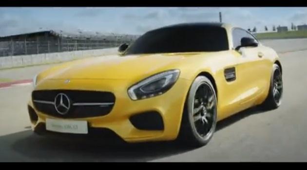 【ビデオ】新型ハイパフォーマンスモデル「メルセデスAMG GT」がサーキットを走る!