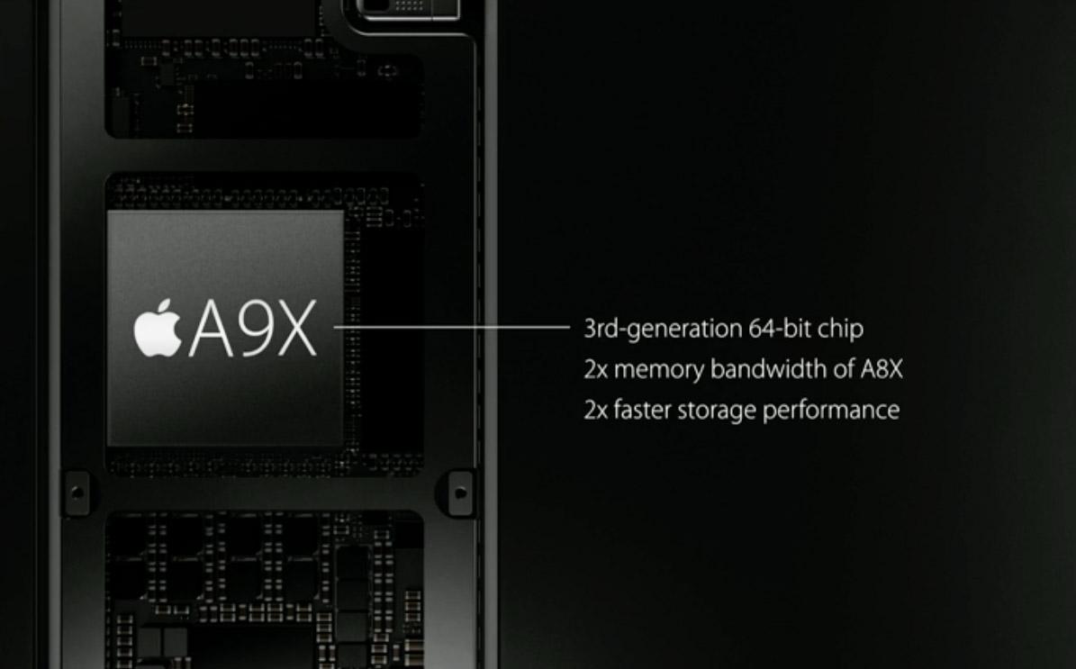 Apple unveils the speedy A9X processor