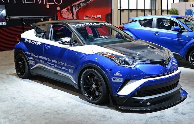 【SEMA2017】トヨタ、600馬力の「C-HR」を公開!(ただし前輪駆動のまま)