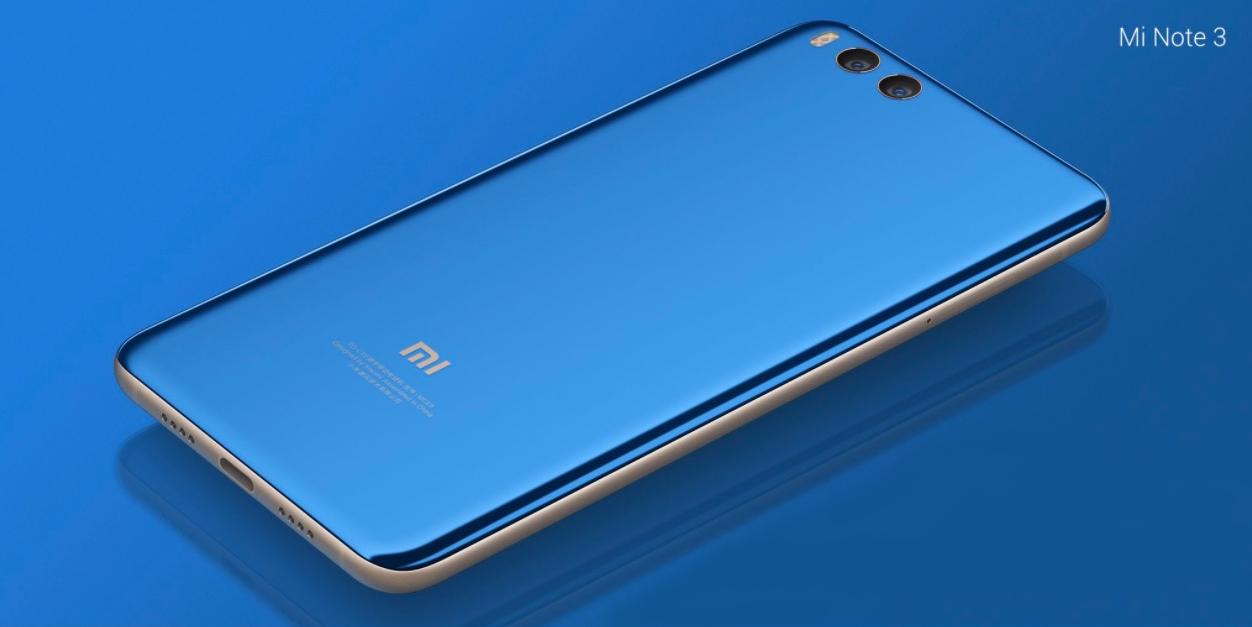 Xiaomi Mi Note 3 es un Mi 6 con una pantalla más grande