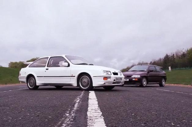 【ビデオ】英国のクルマ好きを虜にしたコスワース製エンジン搭載の2台のフォード