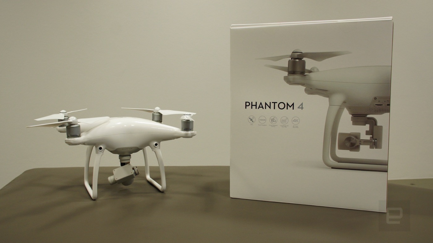 El Phantom 4 es el dron más inteligente del escuadrón de DJI