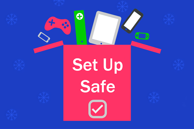 Set up Safe box