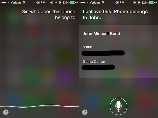 Found a lost iPhone? Siri can help you find its owner