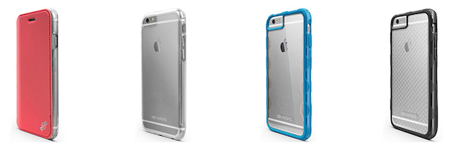 X-Doria cases for iPhone 6 and 6 Plus
