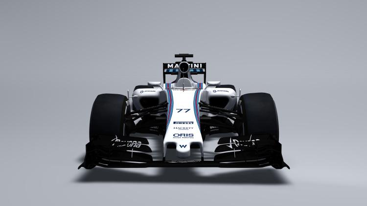 ウィリアムズが2015年のF1マシン「FW37」を公開!