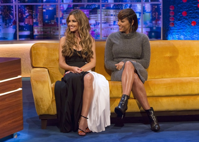 Cheryl Fernandez-Versini and Mel B on The Jonathan Ross Show