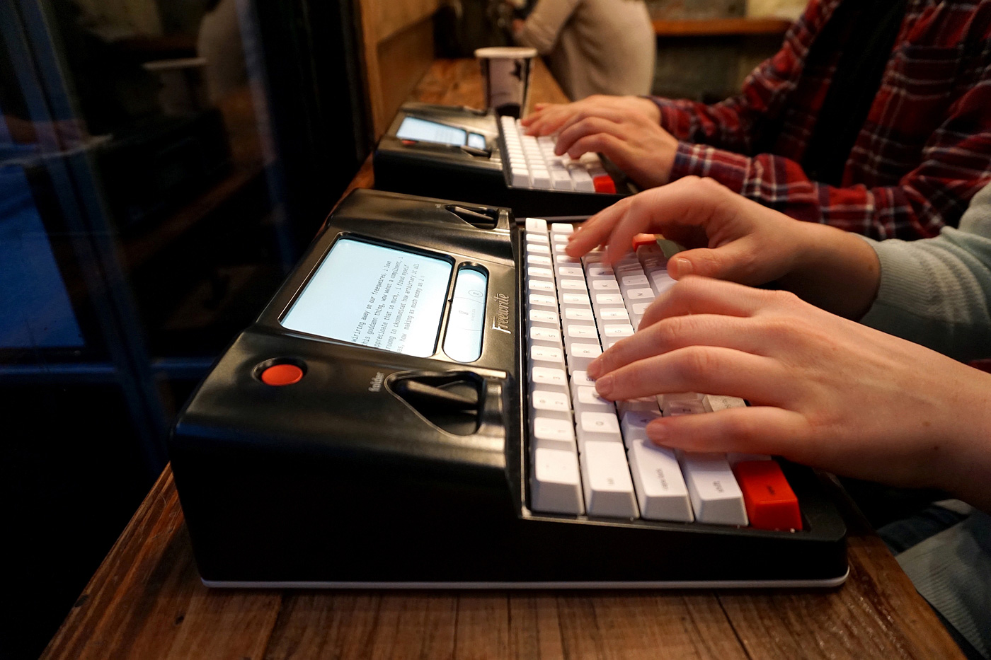 The smart typewriter is here