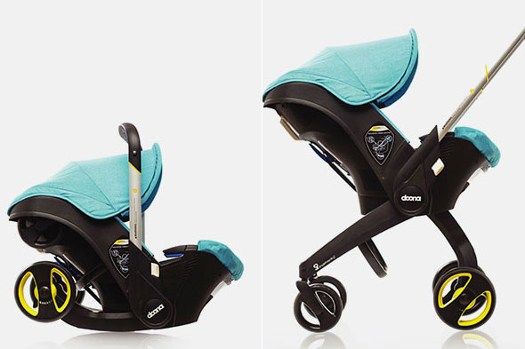 Every new parent's dream? Doona: The car seat that transforms into a buggy