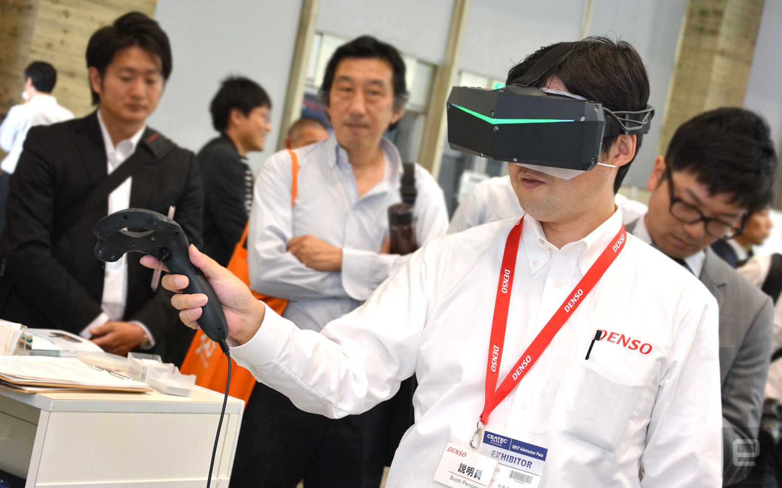 photo image Chinese startup's '8K' VR headset is surprisingly advanced