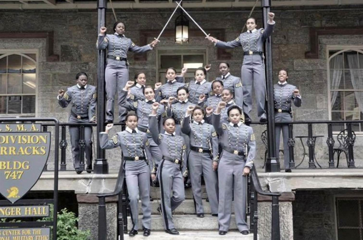 west point cadets controversial image