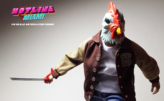 Hotline Miami 2 footage leaks, action figure nears funding goal