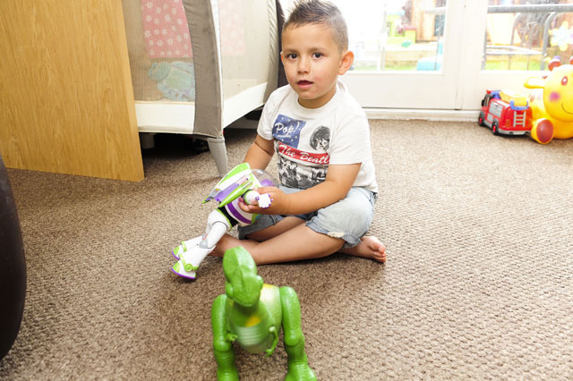 Harvey Hawkins, 5, must wait for brain tumour to grow before life saving surgery