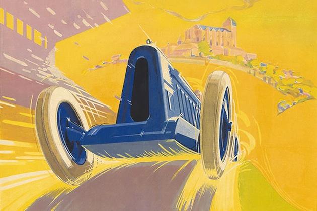 あなたのガレージに、ビンテージの自動車関連ポスターはいかが?