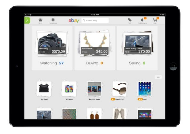 eBay's new mobile apps are all about you