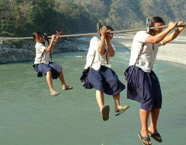 toughest school runs around the world