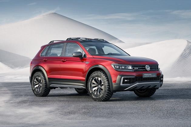【北米国際自動車ショー2016】VW「ティグアン GTE アクティブコンセプト」は、スポーティなオフロード向けPHV(ビデオ付)