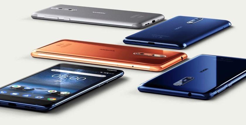 Verkaufszahlen Q4 2017: Nokia hängt Google, HTC und OnePlus ab