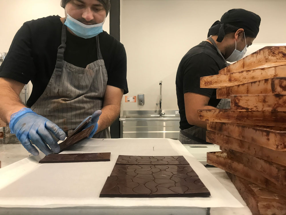 Mirzam chocolate makers.