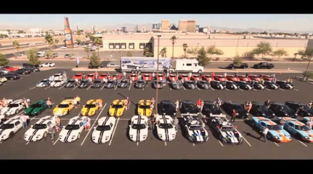 【ビデオ】「フォードGT」のオーナー気分を味わえるドキュメンタリー映像