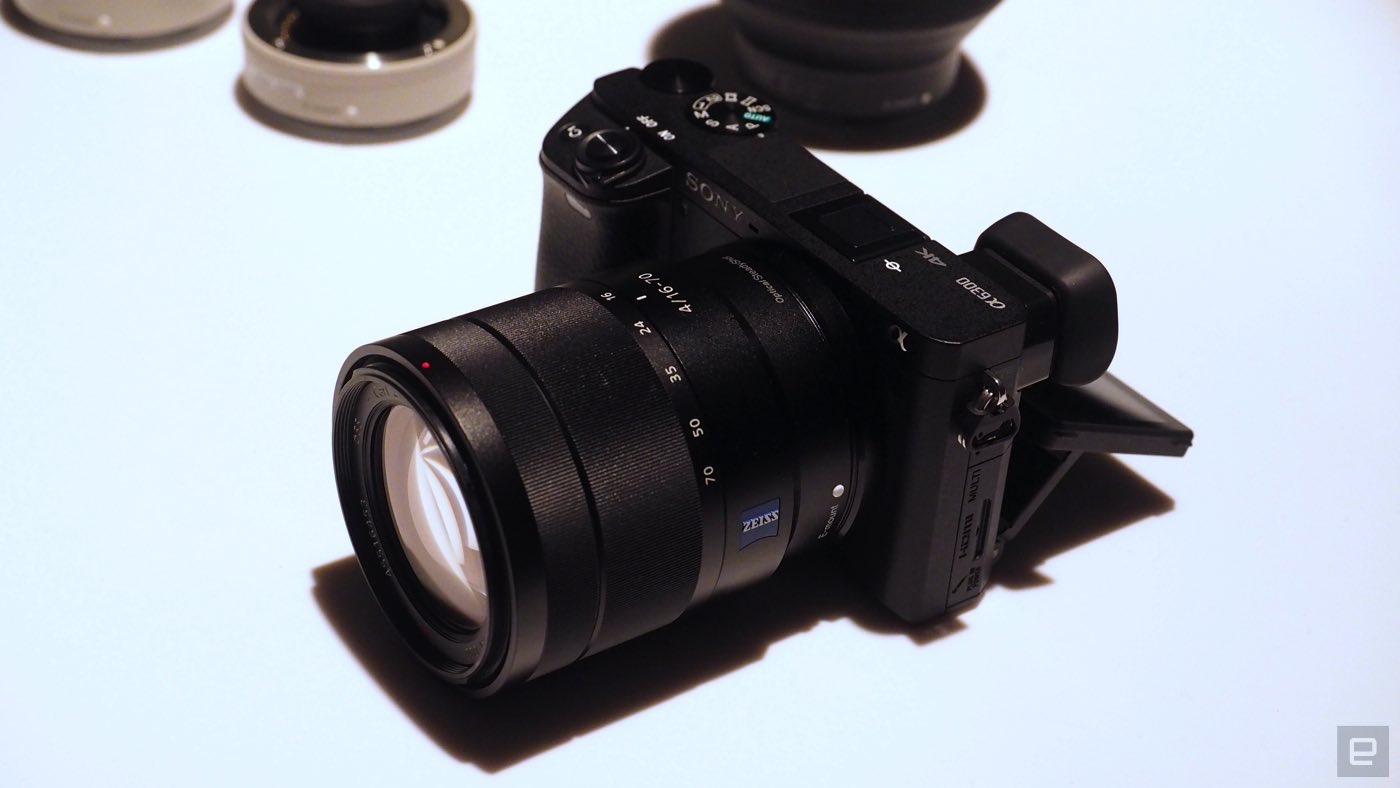 Sony's A6300 mirrorless camera shoots 4K in Super 35mm