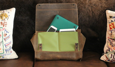 Waterfield Designs Rough Rider Leather Messenger Bag