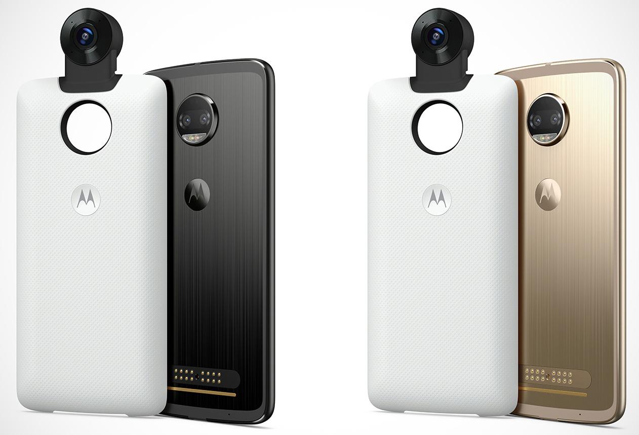 Moto Mod 360 Cam: 4K-Video und 3D-Sound für Moto Zs