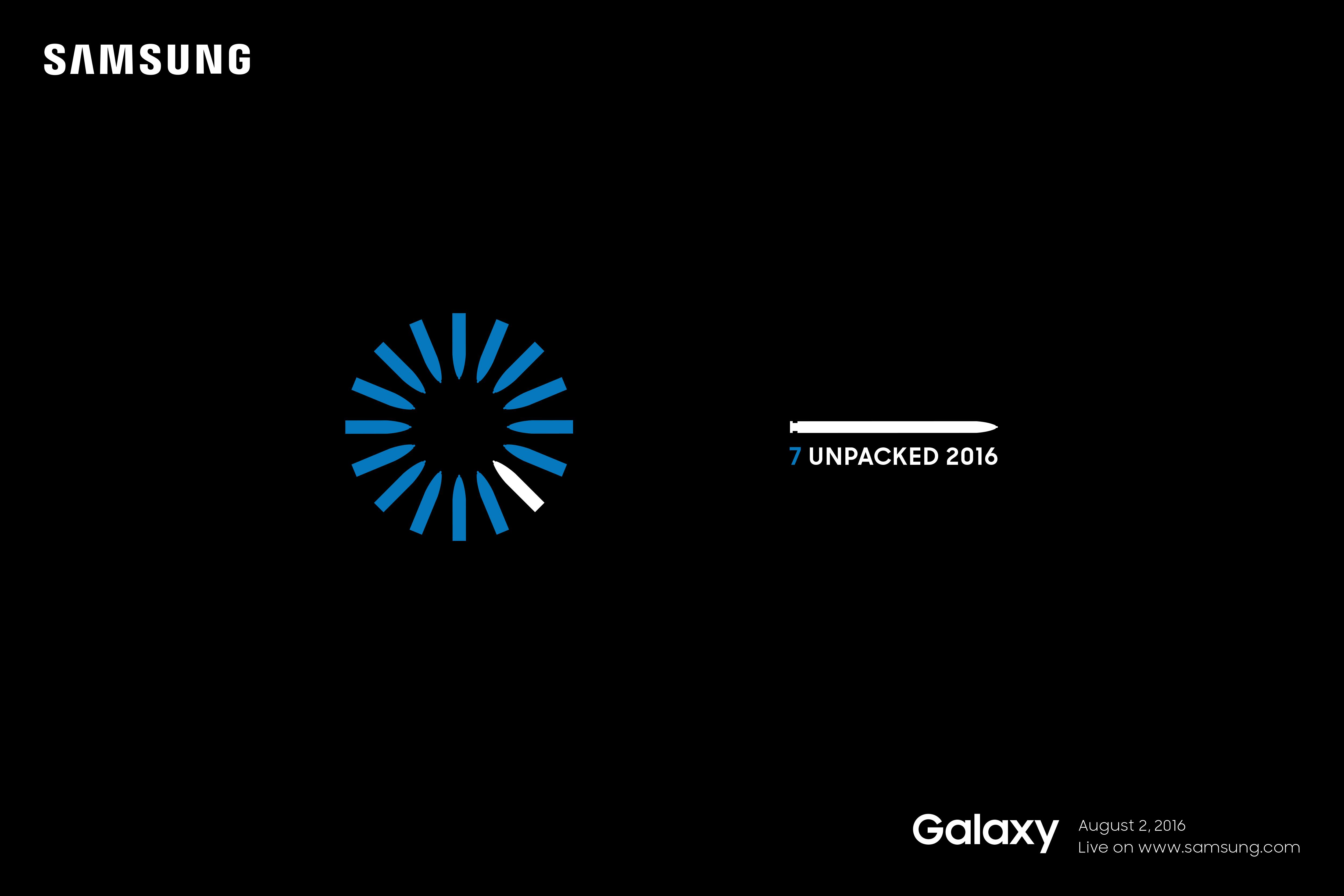 Ahora sí: Samsung nos cita para su evento del Note 7 el 2 de agosto