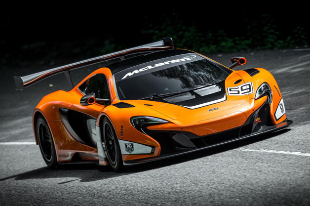 McLaren rolls out new competition-spec 650S GT3