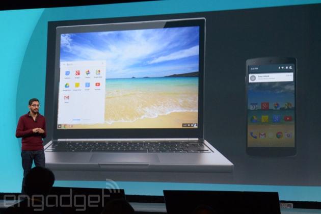 Las aplicaciones de Android llegan a los Chromebooks