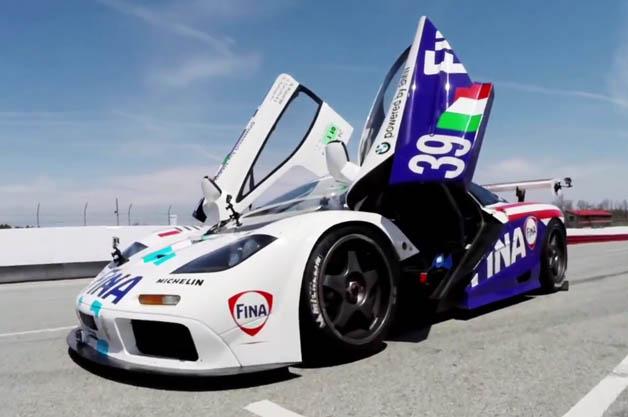 【ビデオ】マクラーレン「F1」のレーシングモデル「F1 GTR」の走りを改めてチェック!