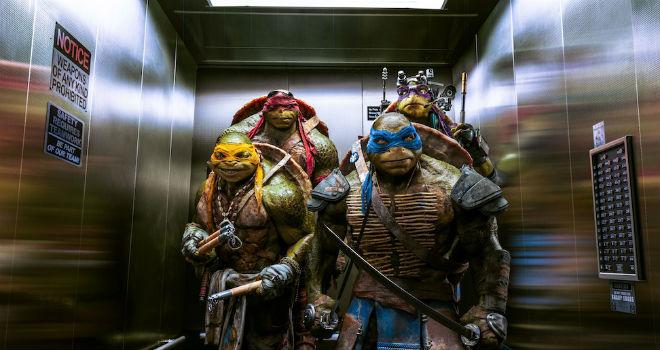 box office teenage mutant ninja turtles