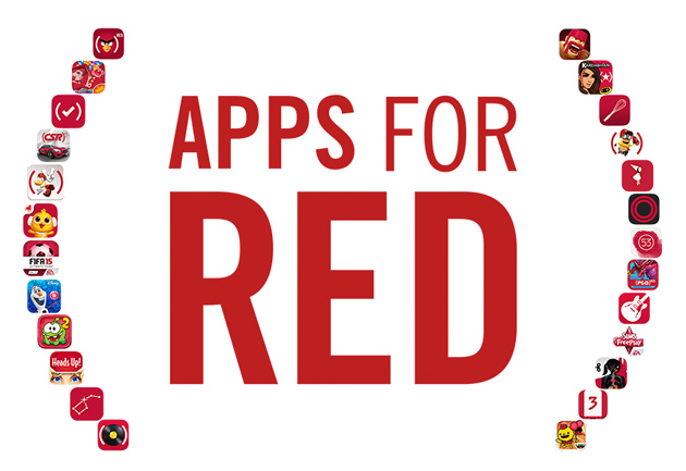 Apple partners with major app developers to raise money for AIDS research