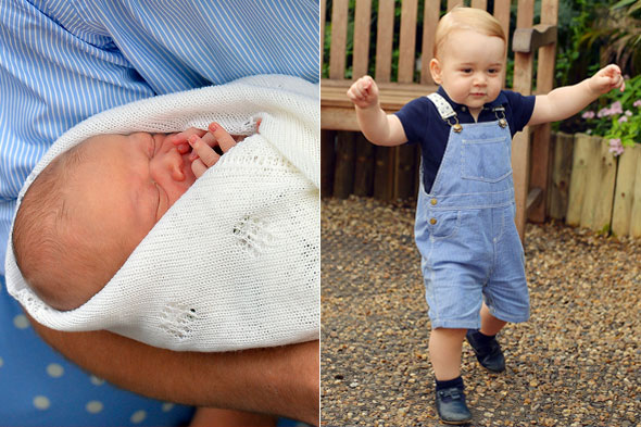 Prince George's first birthday: See how he's grown