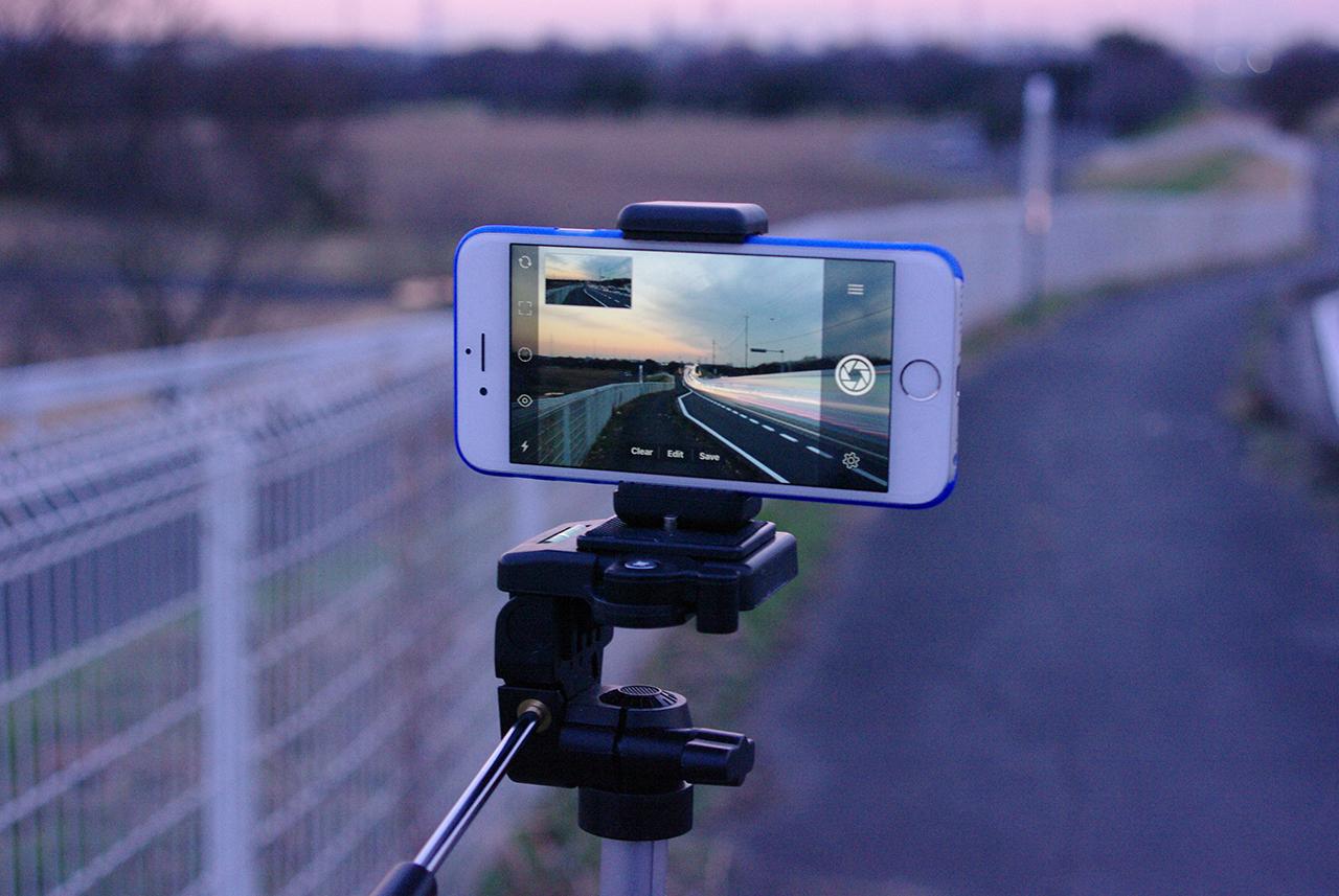 Slow Shutter Cam撮影風景
