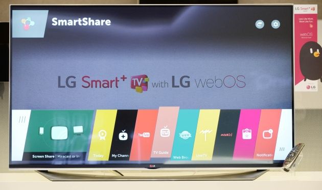 webOS 2.0 will make LG's smart TVs much faster next year