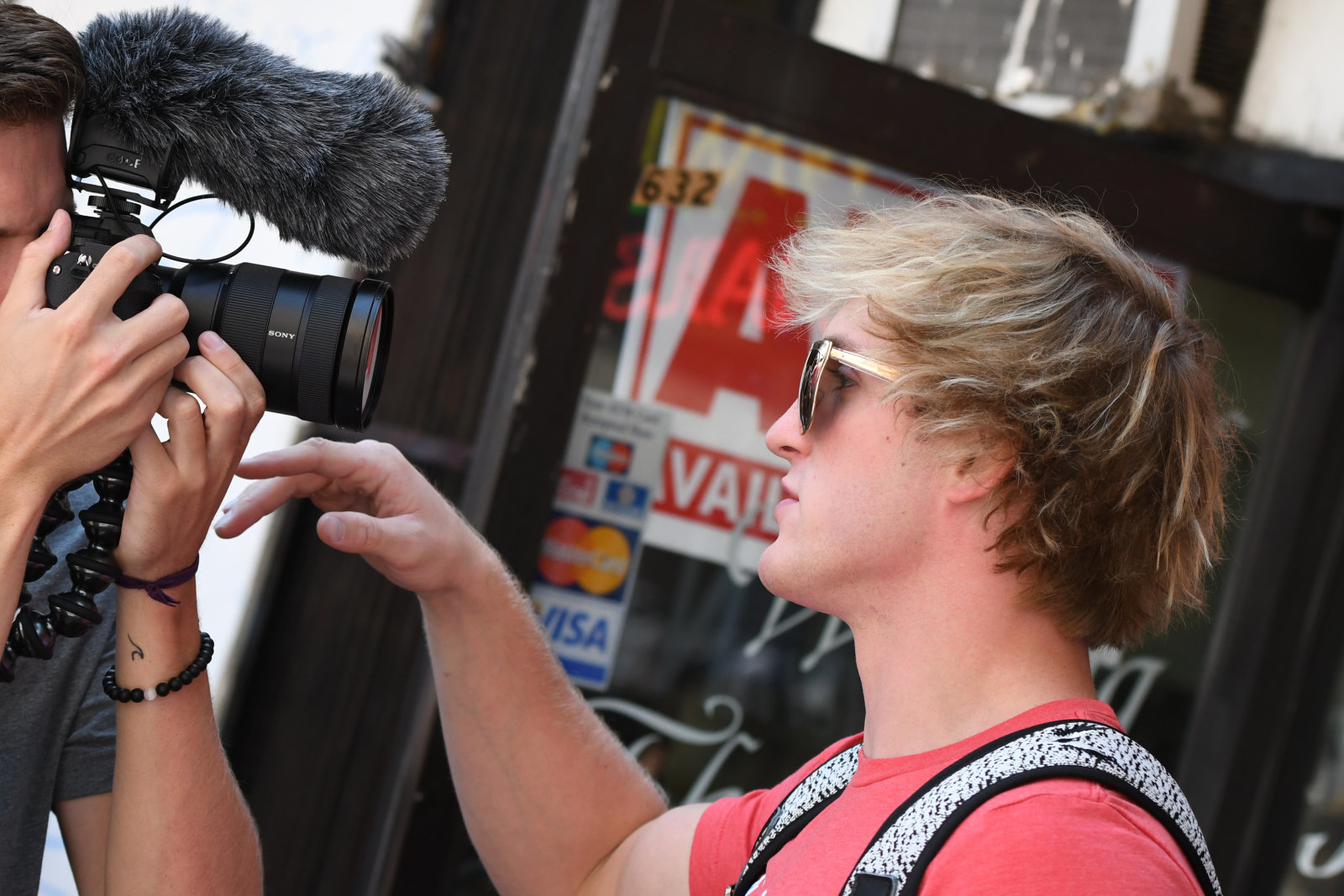 LOS ANGELES, CA - AUGUST 08: Logan Paul is seen on August 08, 2017 in Los Angeles, California.  (Photo by PG/Bauer-Griffin/GC Images)