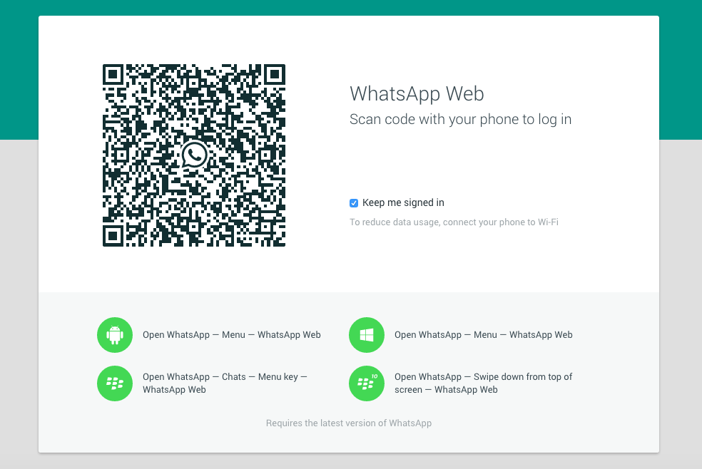 WhatsApp lets you send messages from Chrome, but doesn't play nice with iOS