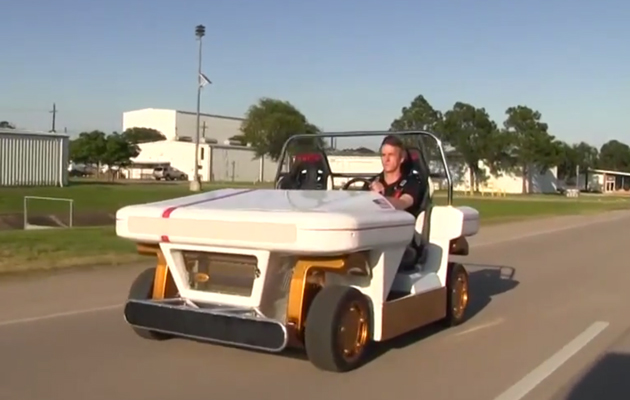 NASA's self-driving golf cart only looks geeky